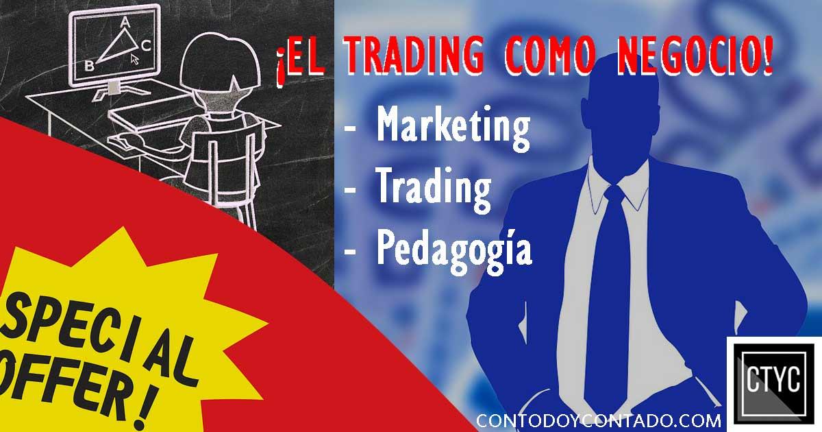 El trading como negocio
