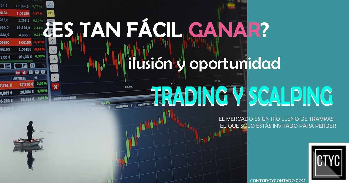 Trading y scalping gráfico